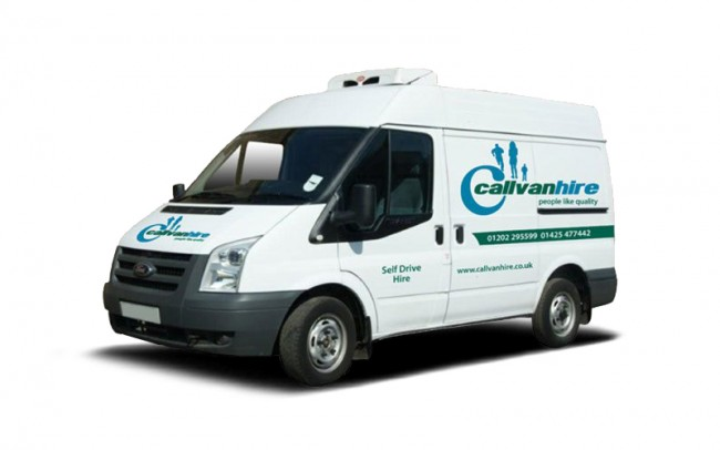Ford Transit Refrigerated Van Hire