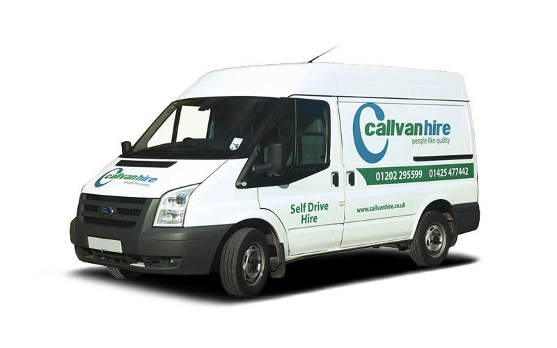 Ford Transit Low Roof Van Hire