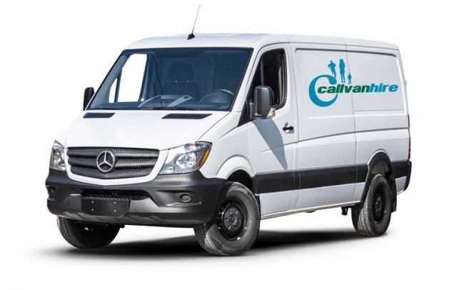 Mercedes High Cube Van Hire