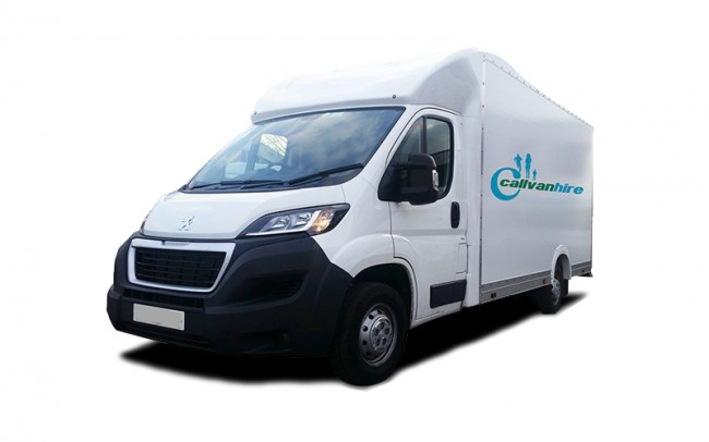 Peugeot Low Loader Van Hire