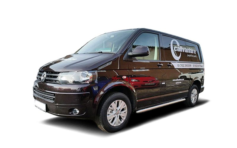 VW Transporter SWB Blackberry Van Hire